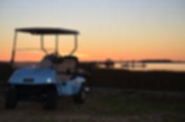 Enjoy a golf cart rental on Isle of Palms, SC.