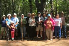 Group Hike at Loring Conant