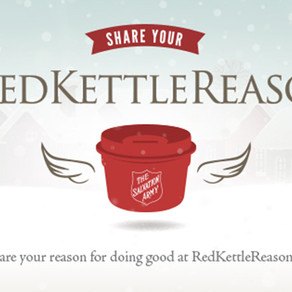 The Salvation Army's Red Kettle Kick Off