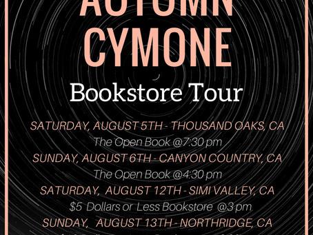 Autumn Cymone Bookstore Tour!