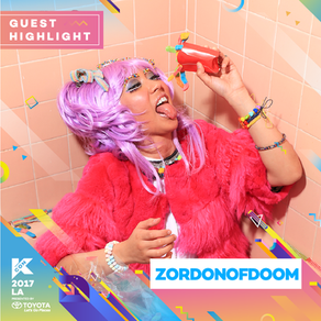 ZorDonofDoom at KCON LA, FRIDAY, AUGUST 18