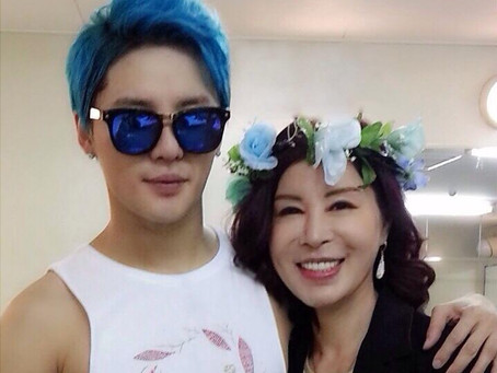 Xia Junsu's Mom Rumored to Release a Ballad Album Next Year