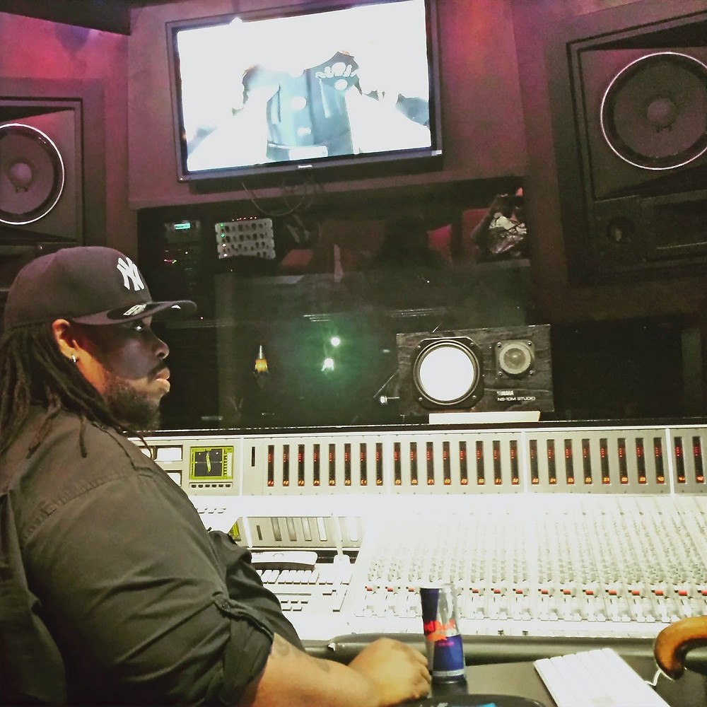"Grammy-nominated, Sony/ATV music producer Bruce Vanderveer p/k/a ""Automatic"" in the studio"