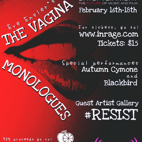 20TH ANNIVERSARY OF THE VAGINA MONOLOGUES - FEB. 16, 17, 18