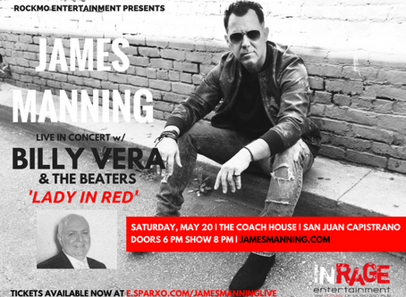 JAMES MANNING LIVE AT THE COACH HOUSE