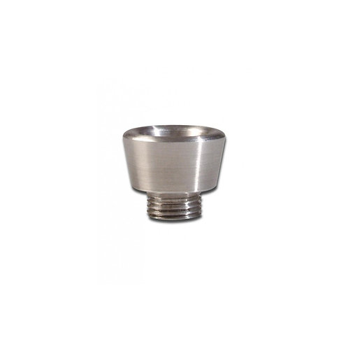 Small Conical Metal Screw Thread Bowl