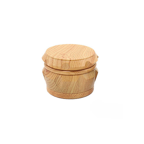 Wood Effect Ergonomic Herb Grinder