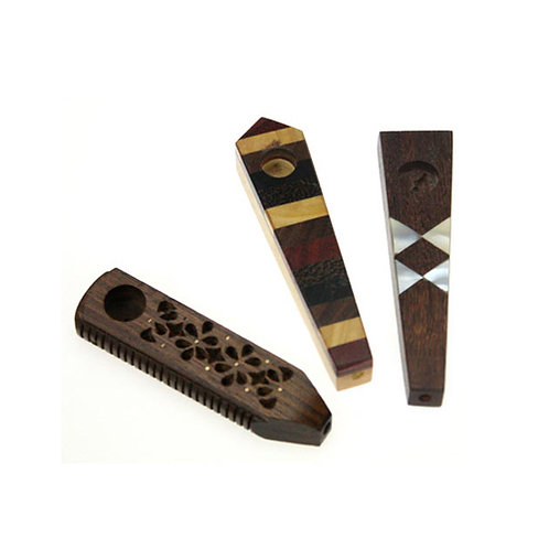 Wooden Pipe (Design will Vary)