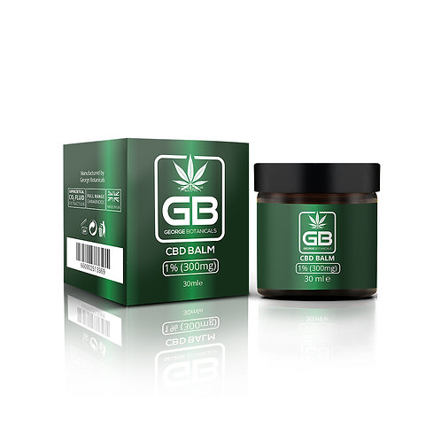 George Botanical CBD Balm 30ml 300mg CBD (1%)