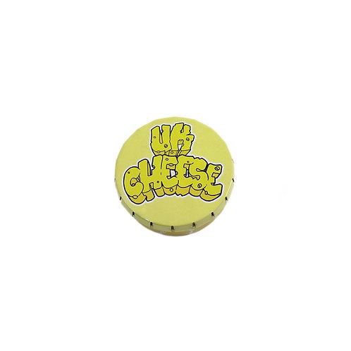 50mm Pop Tin-UK Cheese Design