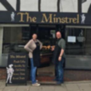 Simon Harrison, The Minstrel Cafe
