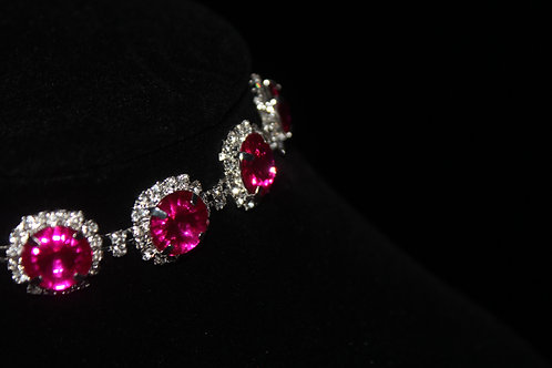 Saaphire Ruby Necklace