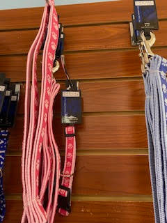Pink Paws Leash and Collar Set