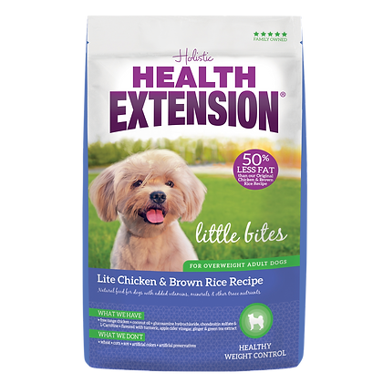 Health Extension Little Bites Lite Chicken & Brown Rice Recipe 4-lb Bag