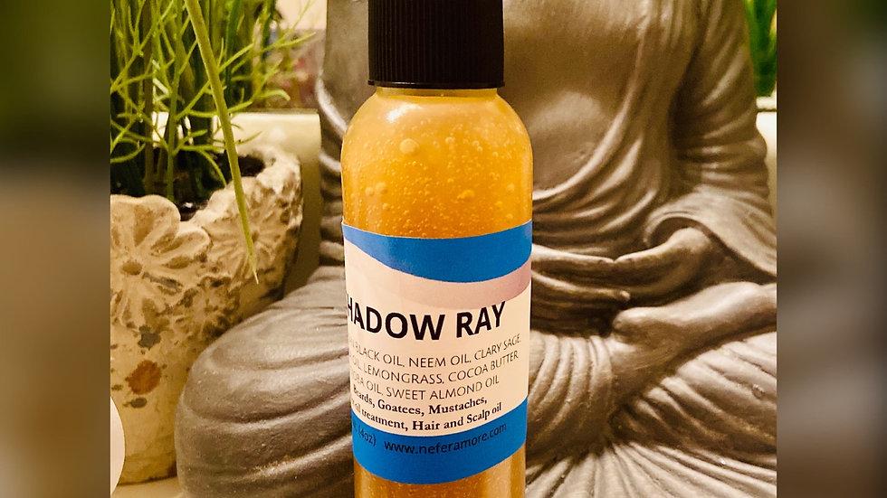 Shadow Ray/ Beard Oil, Hot Oil Treatment, Hair and Scalp Oil 4oz