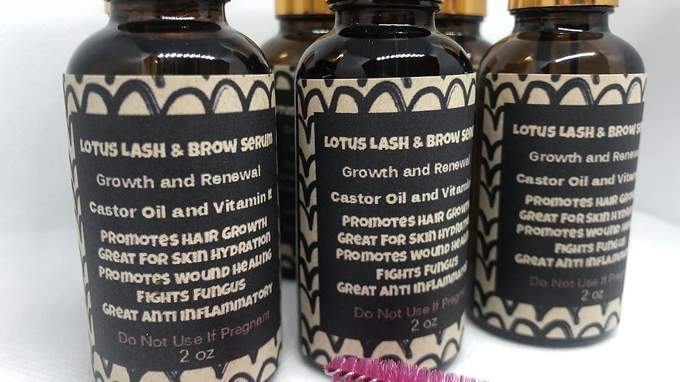 Lotus Lash and Brow Serum   2oz