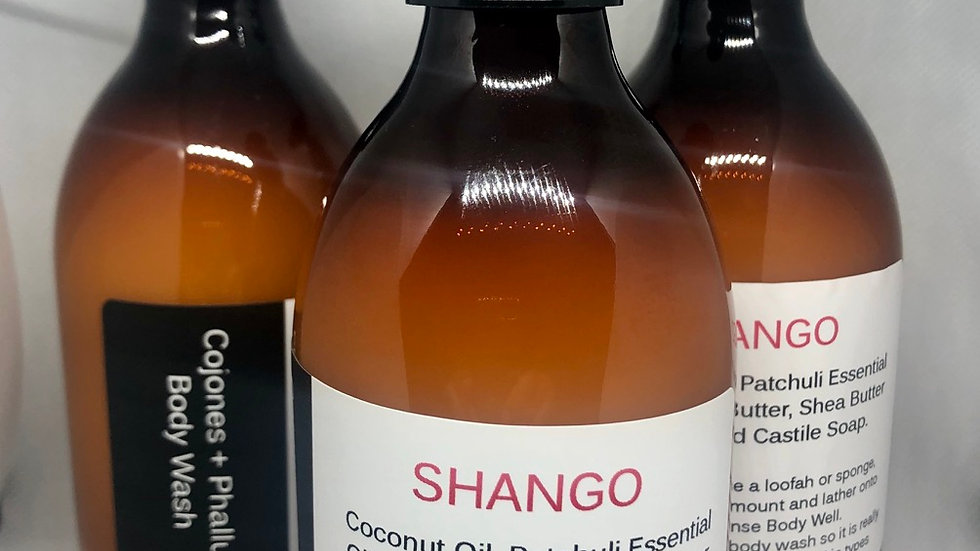 Shango (Men's) Cojones, Phallus & Body Wash 8oz