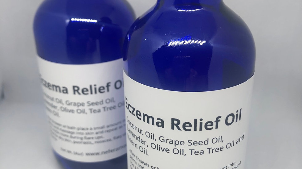 Nefer Amore Eczema Soothing and Relief Body Oil 4oz