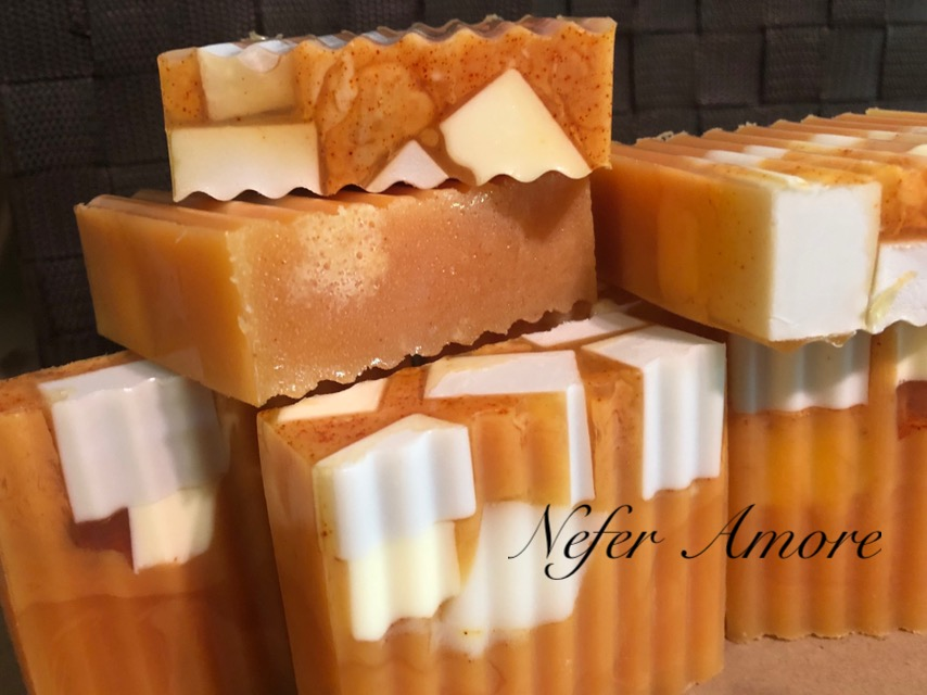 Custom Made Lotus Deep Cleansing Face and Body Bar