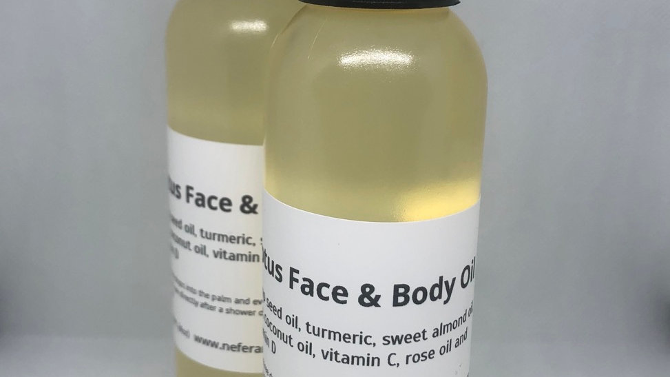 Lotus Face and Body Oil (only 4oz available)