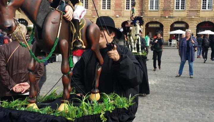 Le Festival mondial des théâtres de Marionnettes, en Ardennes, France