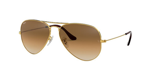 Ray Ban 3025 001/51 Aviator 55 62 Sunglasses