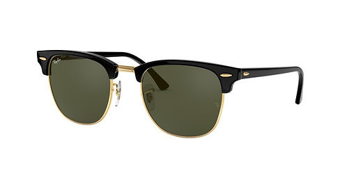 Ray-Ban RB3016F W0365 Clubmaster 55 Sunglasses