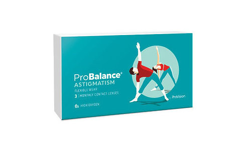 Probalance Monthly For Astigmatism Monthly (3 pack)