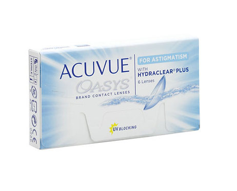 Acuvue Oasys For Astigmatism Fortnightly (6 pack)