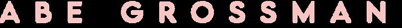Abe Grossman - Name Logo 3.png