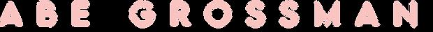 Abe Grossman - Name Logo 1.png