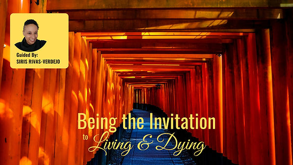 ENG Being the Invitation Living and Dyin