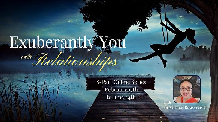 ENG Exuberantly You Relationships Banner