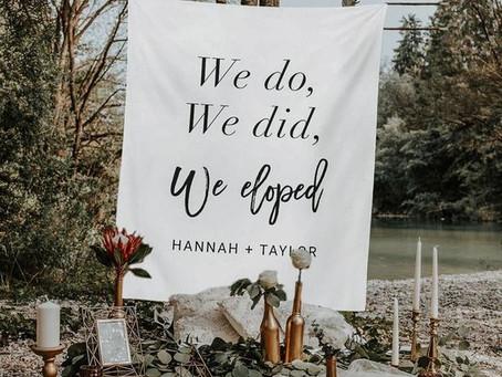 Elopement: il nuovo Wedding Trend sbarcato in Italia