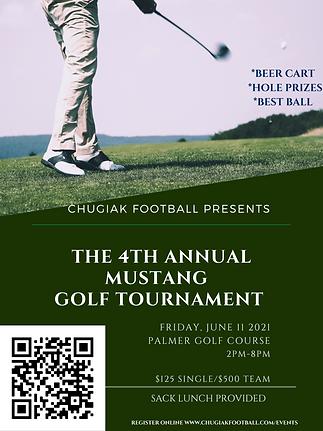 4Th Annual Mustang Football Golf Tournem