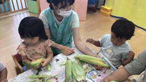 【えみたす】Peel the corn! 🌽