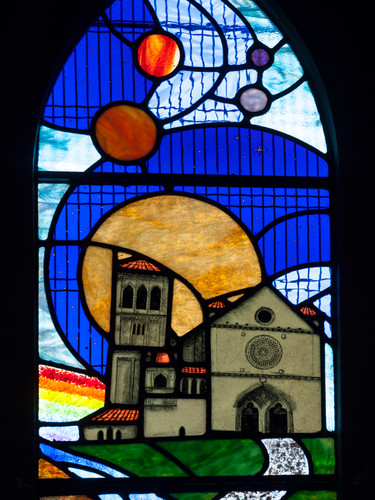 St Frances of Assisi Window
