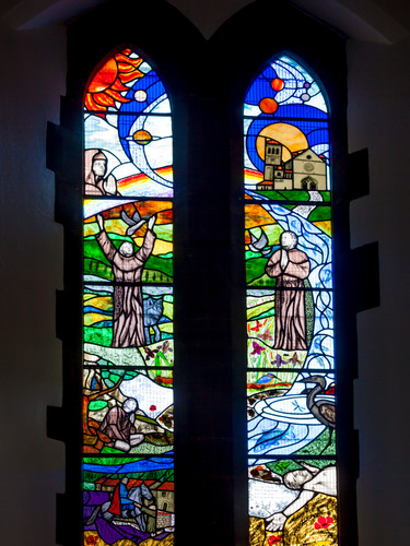 Entire St Frances of Assisi Window