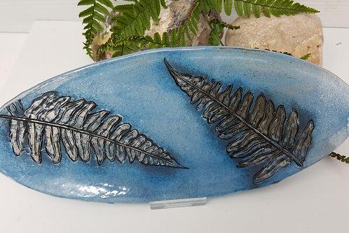 Blue Fern Dish