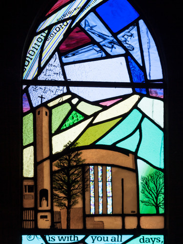 Maximilian Kolbe Window