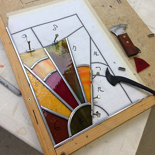 Gift Voucher - Traditional Stained Glass - 2 Day workshop