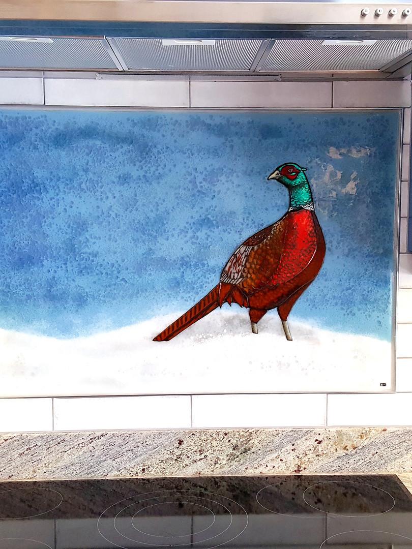Pheasant Splashback