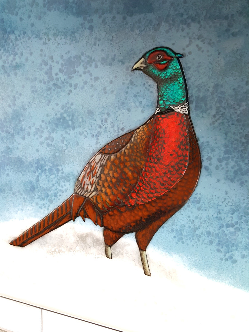 Pheasant Splashback section