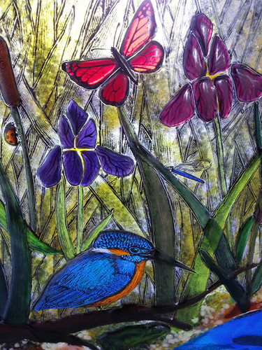 Kingfisher wall panel