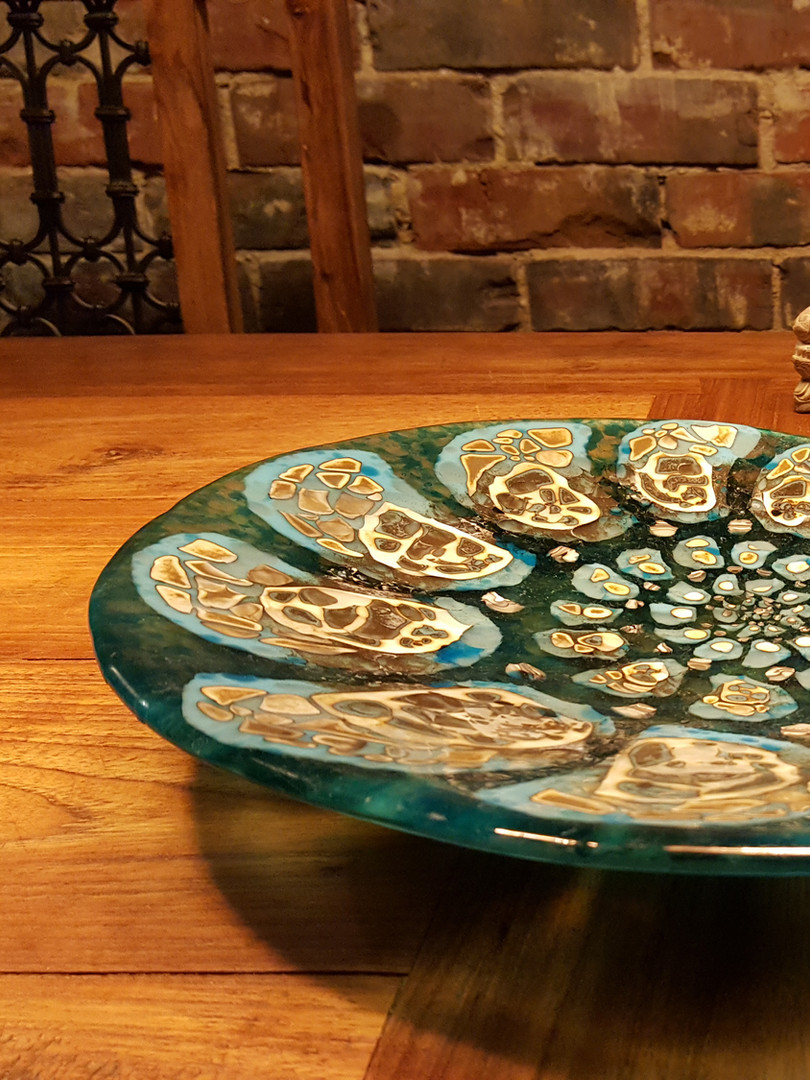 Ammonite bowl