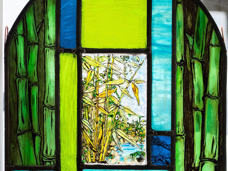 Welcome to my new Blog - Isolation - Through the garden window
