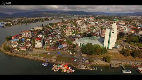 Recopilacion de tomas aereas del Corso Fluvial en Valdivia Chile. Trabajo realizado en X-CAM.