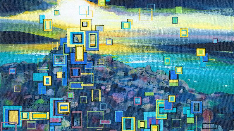 Sunset Chasing Artist Signed Giclée Print
