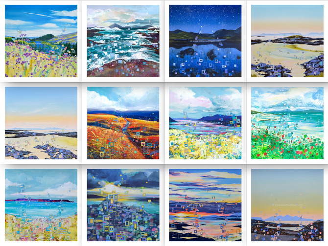 Which Giclée print would you like to WIN?