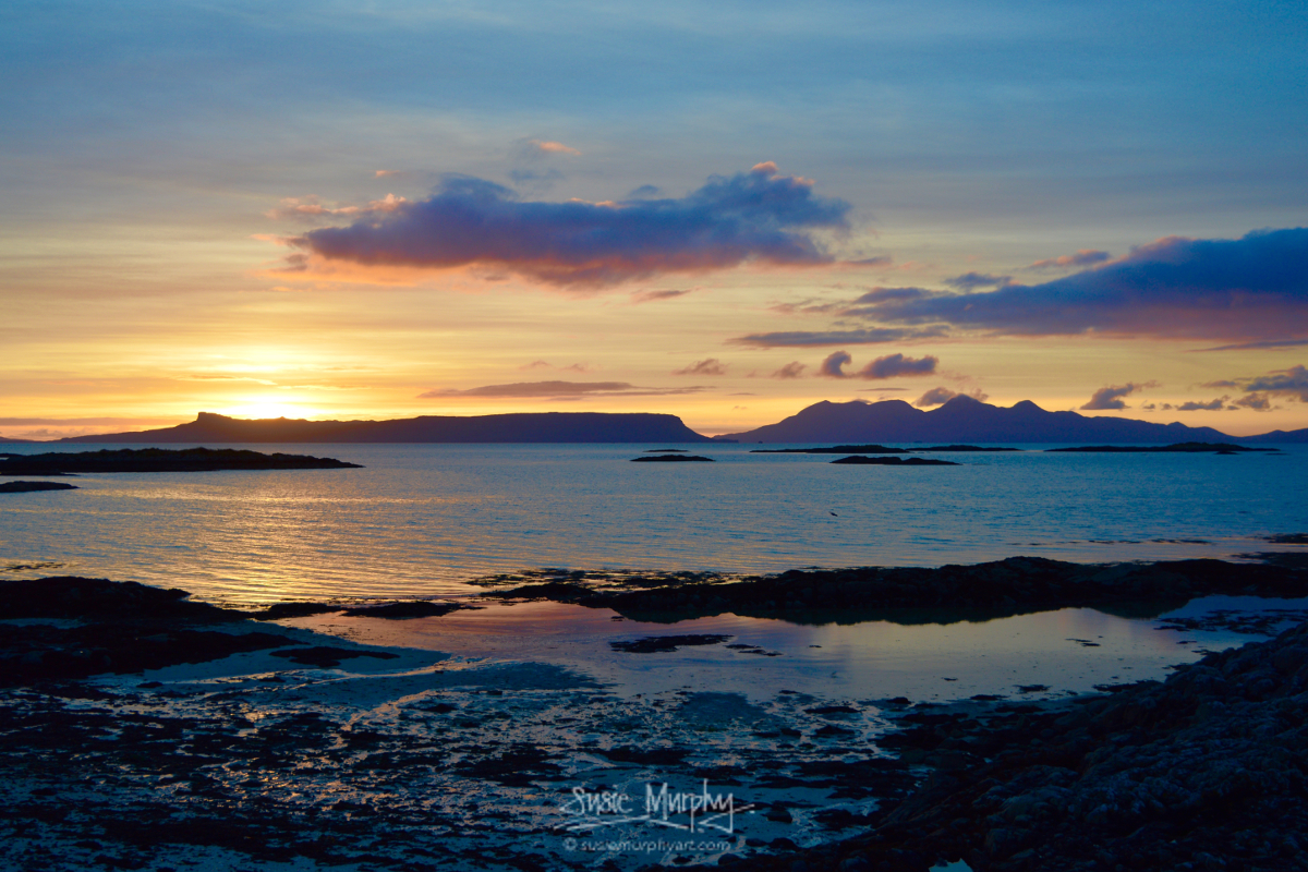 Arisaig Sunset